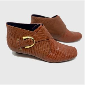 Anthropologie La Due by Due Farina ankle booties